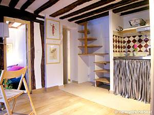 Paris 2 Bedroom - Duplex apartment - living room (PA-3118) photo 4 of 7