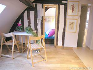 Paris 2 Bedroom - Duplex apartment - living room (PA-3118) photo 5 of 7
