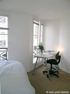 Paris T3 appartement location vacances - chambre 2 (PA-3176) photo 2 sur 4