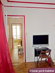 Parigi 1 Camera da letto appartamento - camera (PA-3216) photo 3 di 3