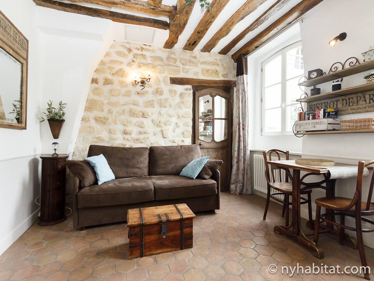 logement paris location meubl e studio t1 montorgueil pa 3255. Black Bedroom Furniture Sets. Home Design Ideas