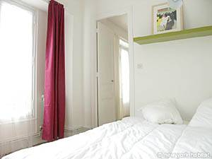 Paris 1 Bedroom accommodation - bedroom (PA-3323) photo 2 of 5