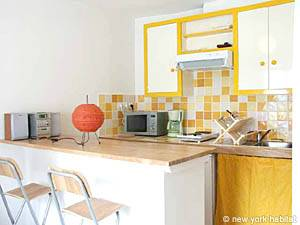Paris 1 Bedroom accommodation - kitchen (PA-3323) photo 1 of 2