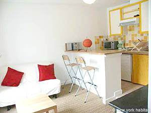 Paris 1 Bedroom accommodation - Apartment reference PA-3323