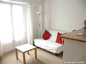 Paris 1 Bedroom accommodation - living room (PA-3323) photo 1 of 6