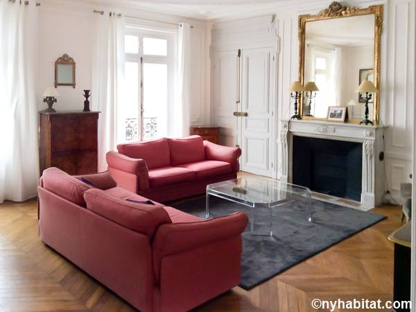 Paris 2 Bedroom accommodation - living room (PA-3348) photo 1 of 3