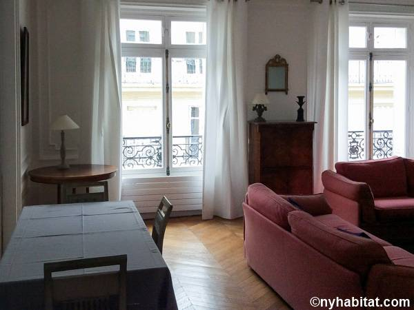 Paris 2 Bedroom accommodation - living room (PA-3348) photo 3 of 3