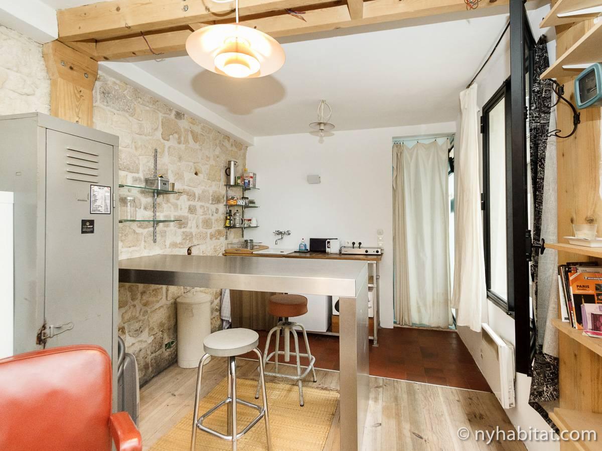 Appartamento a parigi monolocale le marais pa 3411 for Appartamenti a parigi