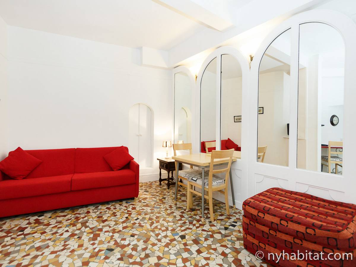 ferienwohnung in paris studiowohnung passy pa 3461. Black Bedroom Furniture Sets. Home Design Ideas
