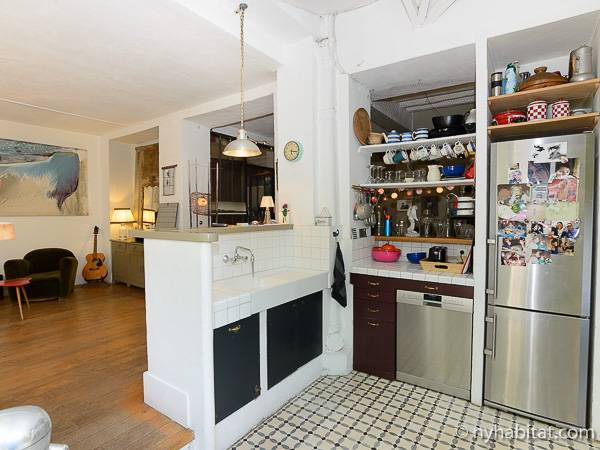 Paris T5 - Duplex appartement location vacances - cuisine (PA-3485) photo 3 sur 4