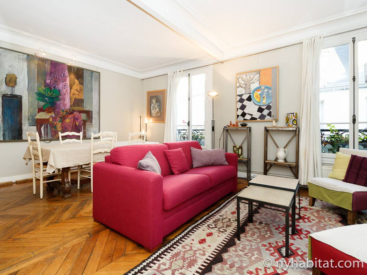 Paris - 1 Bedroom apartment - Apartment reference PA-3554