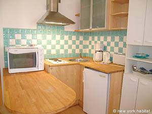 Paris Studio T1 logement location appartement - cuisine (PA-3555) photo 1 sur 1