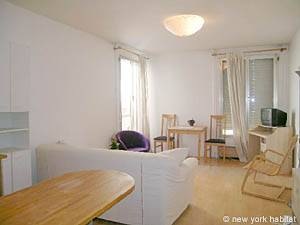 Paris Studio T1 logement location appartement - séjour (PA-3555) photo 3 sur 6