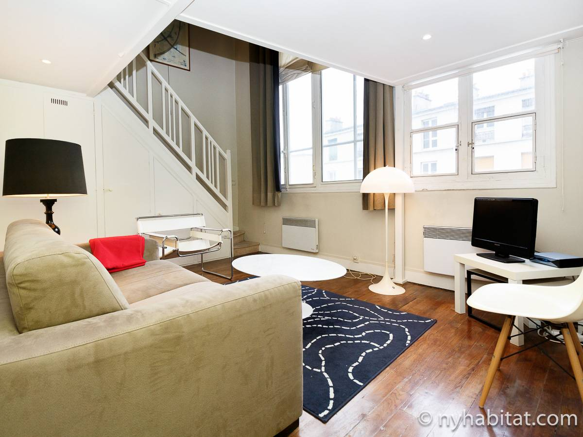 Paris - 1 Bedroom accommodation - Apartment reference PA-3663