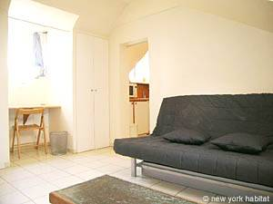 Paris Studio accommodation - living room (PA-3664) photo 3 of 8