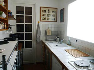 Paris 2 Bedroom accommodation - kitchen (PA-3690) photo 3 of 4