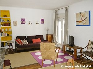Paris 2 Bedroom accommodation - living room (PA-3690) photo 1 of 6