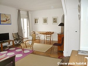 Paris 2 Bedroom accommodation - living room (PA-3690) photo 2 of 6