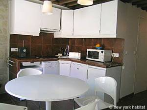 Paris 1 Bedroom - Duplex accommodation - kitchen (PA-3751) photo 1 of 4