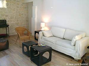 Paris 1 Bedroom - Duplex accommodation - living room (PA-3751) photo 2 of 7