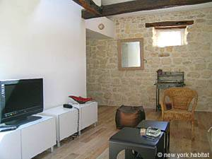 Paris 1 Bedroom - Duplex accommodation - living room (PA-3751) photo 4 of 7