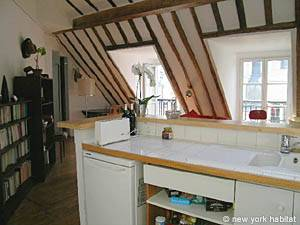 Paris 1 Bedroom accommodation - kitchen (PA-3780) photo 1 of 3