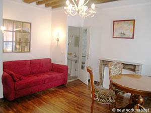 Paris Studio accommodation - living room (PA-3805) photo 1 of 5