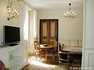 Paris Alcove Studio accommodation - living room (PA-3828) photo 1 of 16