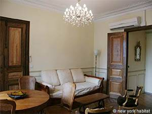 Paris Alcove Studio accommodation - living room (PA-3828) photo 3 of 16