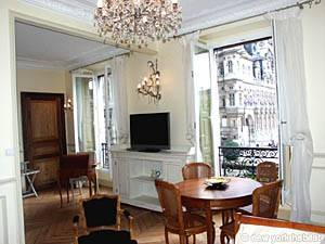 Paris Alcove Studio accommodation - living room (PA-3828) photo 7 of 16