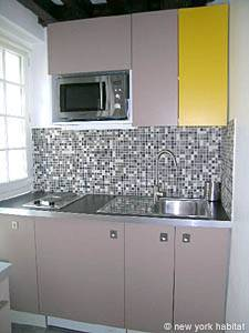 Paris Studio apartment - kitchen (PA-3964) photo 2 of 4