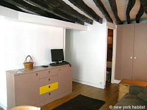 Paris Studio apartment - living room (PA-3964) photo 3 of 6
