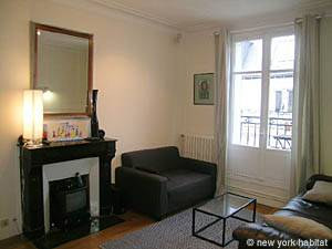 Paris 2 Bedroom accommodation - living room (PA-4009) photo 1 of 5