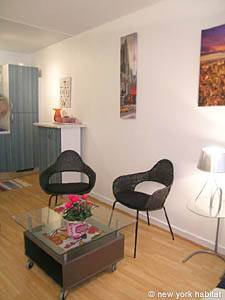 Paris Studio accommodation - living room (PA-4011) photo 6 of 8