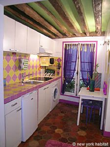 Paris 1 Bedroom accommodation - kitchen (PA-4012) photo 2 of 3