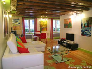Paris 1 Bedroom accommodation - Apartment reference PA-4012