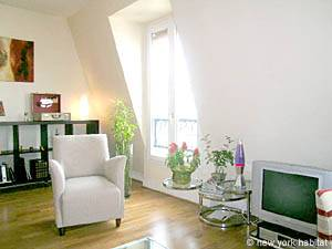 Paris 1 Bedroom accommodation - living room (PA-4034) photo 2 of 14