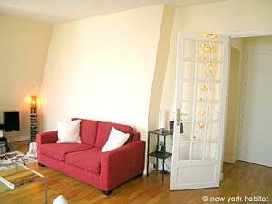 Paris 1 Bedroom accommodation - living room (PA-4034) photo 7 of 14