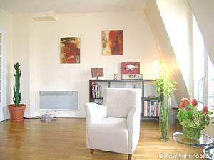 Paris 2 Bedroom accommodation - living room (PA-4034) photo 1 of 14