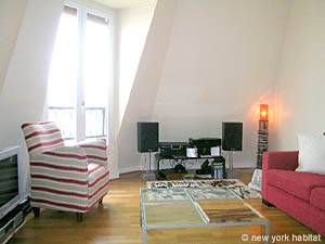 Paris 1 Bedroom accommodation - living room (PA-4034) photo 6 of 14