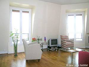 Paris 1 Bedroom accommodation - living room (PA-4034) photo 3 of 14