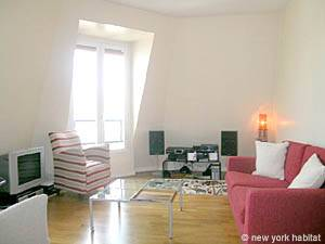 Paris 1 Bedroom accommodation - living room (PA-4034) photo 5 of 14