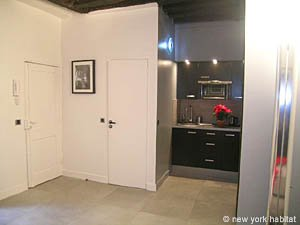 Paris Studio T1 logement location appartement - séjour (PA-4035) photo 5 sur 8