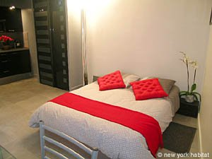 Paris Studio T1 logement location appartement - séjour (PA-4035) photo 6 sur 8