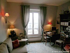 appartamento a parigi - 1 camera da letto - sorbona, quartiere ... - Soggiorno Camera Da Letto