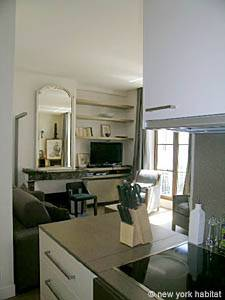 Paris T2 appartement location vacances - cuisine (PA-4074) photo 5 sur 6