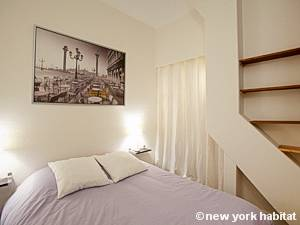 Paris T2 logement location appartement - chambre (PA-4077) photo 2 sur 7