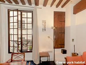 Paris Alcove Studio apartment - living room (PA-4141) photo 12 of 15