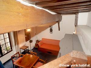 Paris Alcove Studio apartment - living room (PA-4141) photo 3 of 15