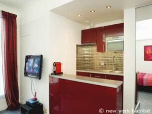 Paris Studio accommodation - kitchen (PA-4143) photo 1 of 4